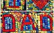 Streichholzschachtel Mosaik