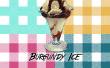 Burgunder Eis