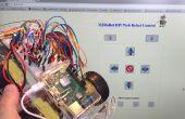 IoT - Controlling ein Raspberry Pi Roboter über Internet mit HTML und Shell-Skripte nur