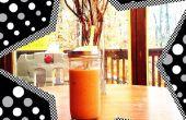 Brauen mit kleinem Budget: Hände nach unten - am besten kalten Kaffee Methode ohne einen Brauer Brauen