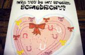 Schnelle und einfache My Little Pony-Herzen und Hufe-Tageskarte für das spezielle Pony
