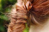 Wie ein Fischschwanz Zopf Frisur zu tun