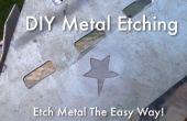 DIY-Metall Ätzen