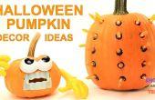 Einfache Halloween-Kürbis Dekor-Ideen