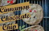 Zimt Chocolate Chip Cookies