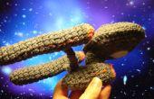 Gehäkelte Raumschiff Enterprise