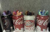 Verwenden Sie eine Cola-Dose, Marker (oder anderem...) zu halten