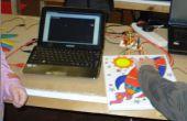Picture Frame-Game-Controller mit Makey Makey und kratzen