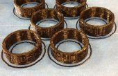 6 Custom Ringe Kleinproduktion laufen abgeschlossen in 40 Minuten