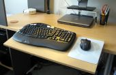 Verstellbare Tastatur Plattform, Schreibtisch Verlängerung