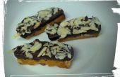 Chocolate-Scheinwerfer Orange Mandel Biscotti