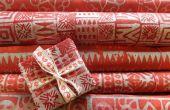 Batik-Xmas Geschenkpapier