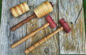 Handwerker-Schlägel für Lederhandwerk, Holzbearbeitung und Bildhauerei