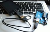 Arduino Android USB serielle Kommunikation mit OTG Kabel