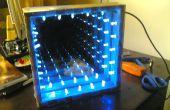 Coole DIY unendliche LED Tunnel