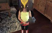 Des Mädchens Hawkgirl Kostüm