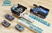 AdruShield – vielseitigste Arduino Shield je
