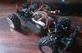 Arduino RC Auto mit großer Reichweite und benutzerdefinierte Sender.
