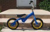 Kleinkind Laufrad aus gebrauchten Kind Fahrrad