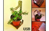USB-Pflanze Regal, der perfekte Office-Begleiter