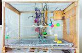 DIY-großer Vogel Käfig kleine Voliere