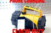 $10-LED-Taschenlampe & Notfall Telefon Ladegerät