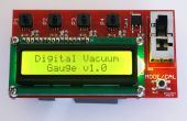 DIY-digitales Vakuum-Messgerät