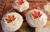 Pumpkin Spice Ernte Cupcakes von Skinny Süßigkeiten Daily