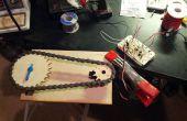 Lasercut-Kettenräder und Servosteuerung eines Ventils