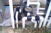 Installing Variable Geschwindigkeit Pool Pumpe, Filter und Sanitär