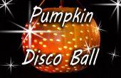Kürbis-Disco-Kugel - Halloween-Party