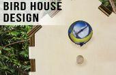 Laser Cut-Vogelhaus Design