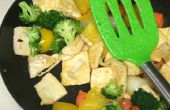 Lassen Sie uns kochen Tofu Stir Fry
