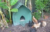 Einen gotische Hühnerstall zu bauen (oder Hundehütte Zwinger oder Schwein oder...)