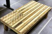 Amerikanische Flagge Couchtisch - Palette Möbel