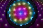 Runde LED-Matrix - 340 x WS2801 Pixel