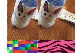 Bunny Bleistift-Halter aus Kunststoff Flasche