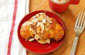 Hausgemachte Mandel Croissants