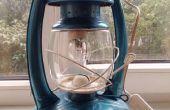 Restaurierung alter Öl-Lampe