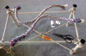 Reparatur von Seil Vogel Sitzstangen