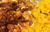 Chicken Tikka Masala mit Kurkuma Reis