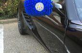 Außenspiegel Socken für Ihr Auto - Support für Leicester City im Stil