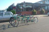 Wie erstelle ich den Bus Fahrrad, 9 Personen, 6 Rädern Fahrrad.