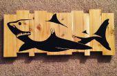 Benutzerdefinierte Holz Wandstück
