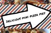 Leckere Mini Pizza Kuchen