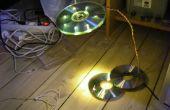 Stromversorgung über die USB LED CD Lampe