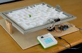 Verwenden Sie Sensoren und Aktoren zu einem mechanischen Labyrinth Labyrinth