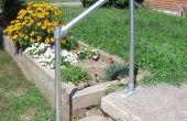 Wie man ein einfaches Geländer bauen