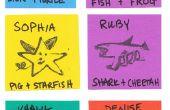 MISCHWESEN: DIY Tinte Stempel - 1. Klasse basteln - Woche 10