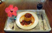 QUINOA & Wurst gefüllte Paprika